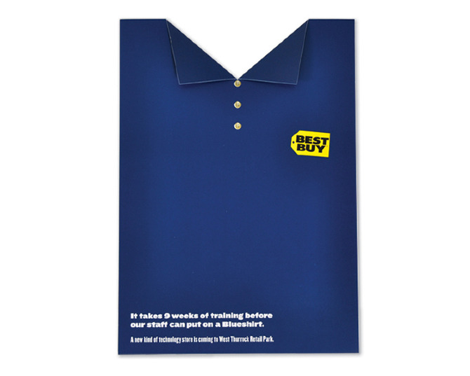 Best Buy Blue Shirt Good Twin Evil Twin